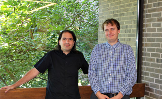 Nima Arkani-Hamed, a professor at the Institute for Advanced Study, and his former student and co-author Jaroslav Trnka, who finished his Ph.D. at Princeton University in July and is now a post-doctoral researcher at the California Institute of Technology.