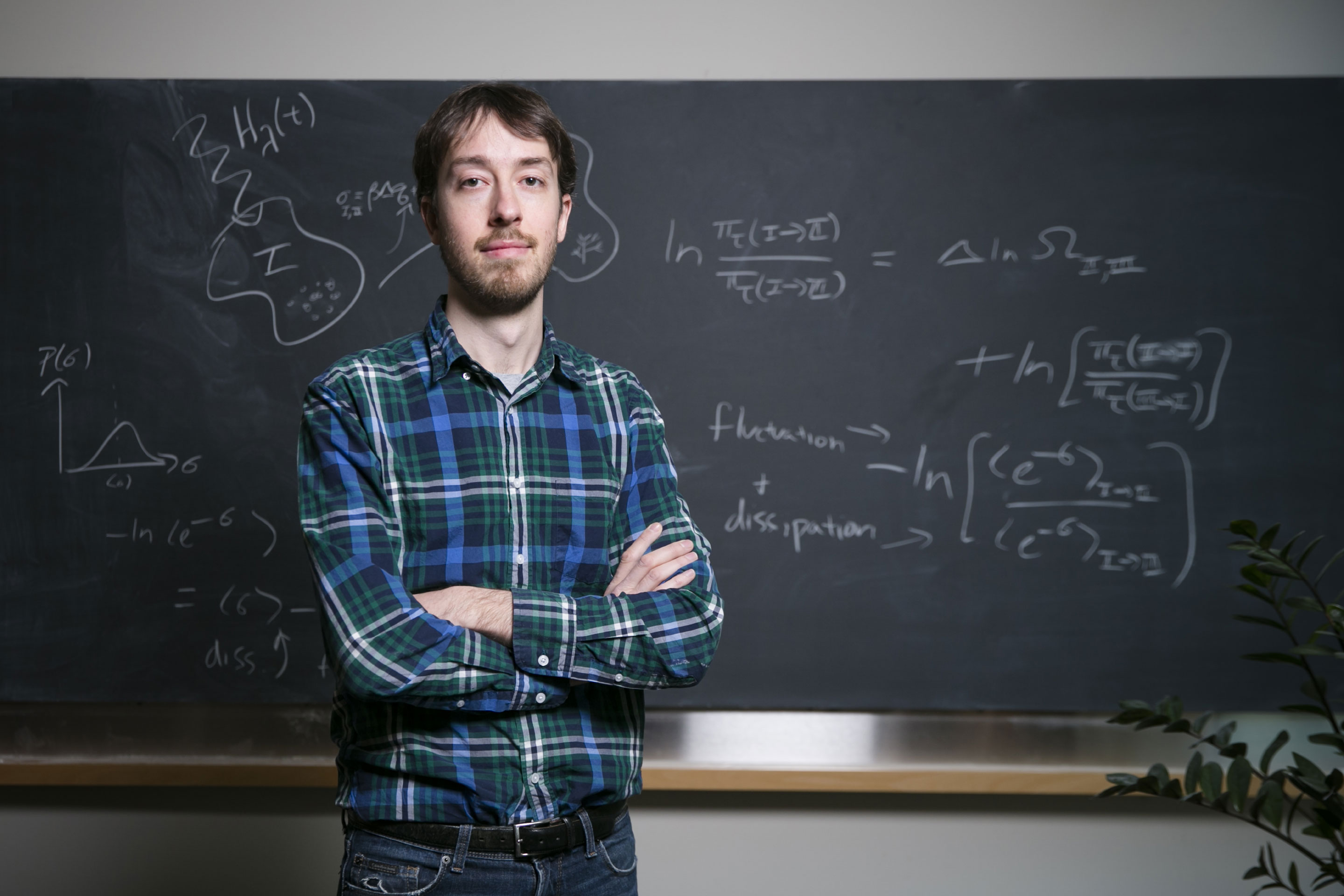 Jeremy England, a 31-year-old physicist at MIT, thinks he has found the underlying physics driving the origin and evolution of life.