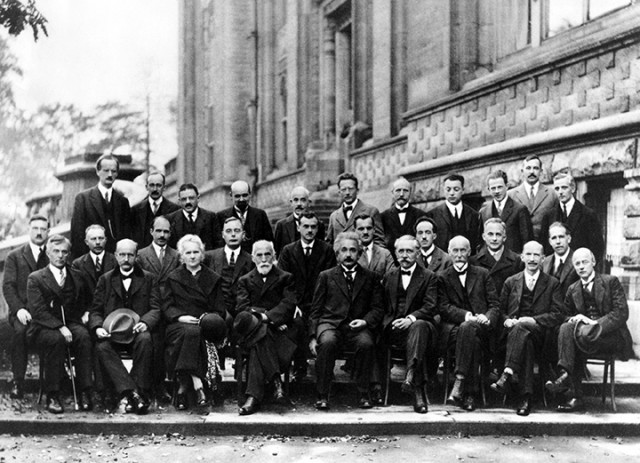 Fifth Solvay Conference.