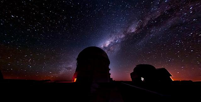 Blanco telescope.