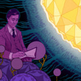 Researchers are on the trail of a mysterious connection between number theory, algebra and string theory.