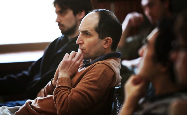 Juan Maldacena no Instituto de Estudos Avançados