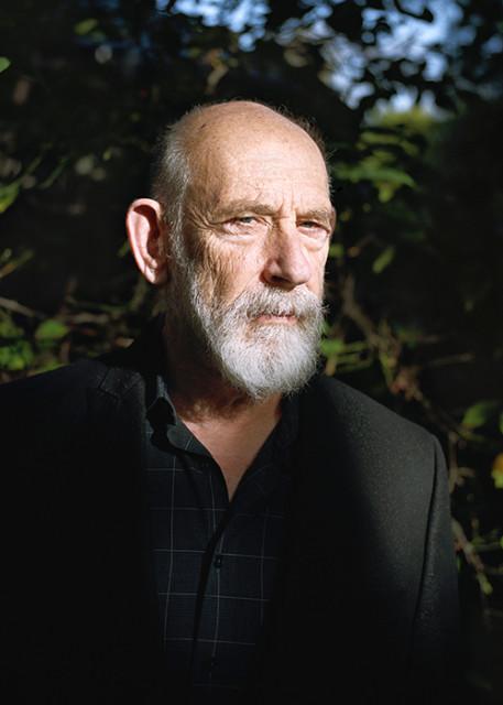 Leonard Susskind em casa, em Palo Alto, na Califórnia.