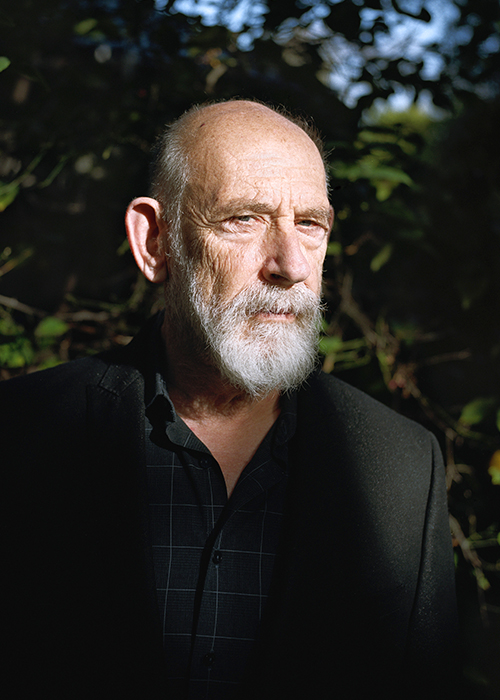 Leonard Susskind at home in Palo Alto, Calif.