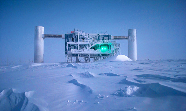 At the South Pole, the IceCube Neutrino Observatory is approaching the mystery of ultrahigh-energy cosmic rays by hunting related cosmic neutrinos, which interact with atoms every so often while passing through the sensor-infused, cubic-kilometer block of ice.