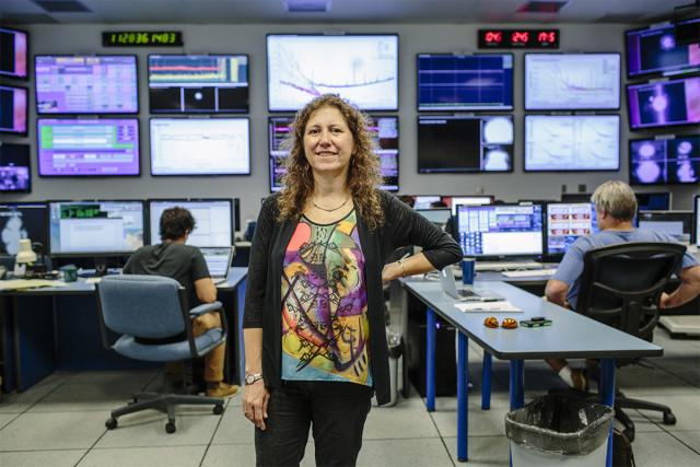 Gabriela Gonzalez at LIGO Observatory