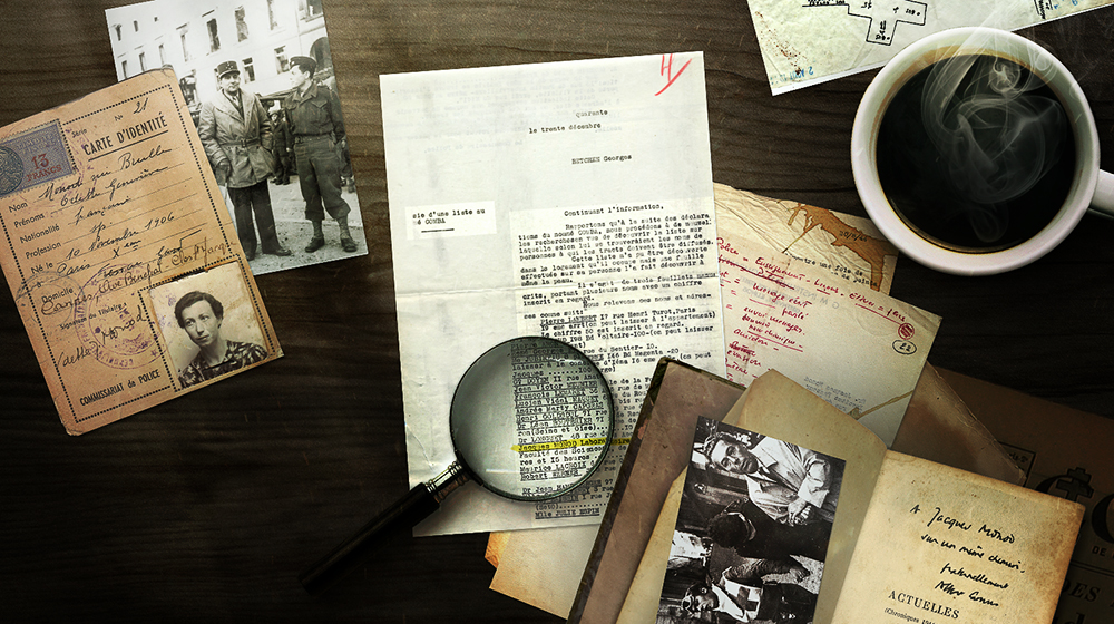 A variety of documents from the life of Jacques Monod. Click the image for more information.