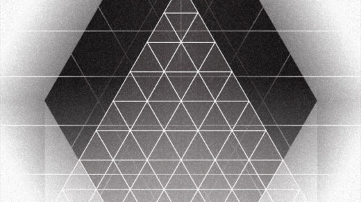 In a geometrically designed social club, how do dancing, triangles and hexagons mix?