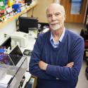 David Deamer in his laboratory at the University of California, Santa Cruz.