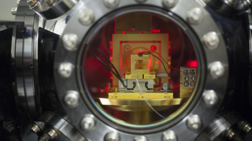 <p>The search for exotic new physical phenomena is being led by huge experiments like the Large Hadron Collider. But at the other end of the spectrum lie tabletop experiments — small-scale probes of hidden dimensions, dark matter and dark energy.</p>
