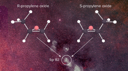 <p>Figuring out how these molecules form in the deep recesses of interstellar space might illuminate the origins of one of life's distinguishing features.</p>
