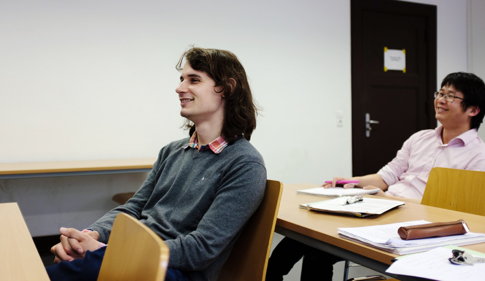 Photo of Dr. Peter Scholze