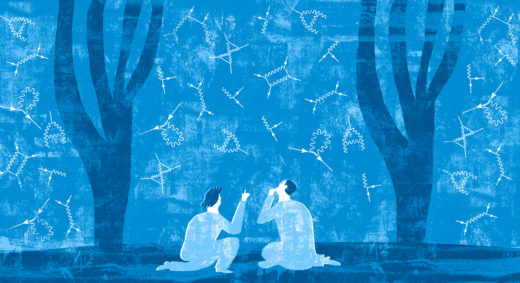 Richard Feynman's famous diagrams weren't just a way to do calculations. They represented a deep shift in thinking about how the universe is put together.