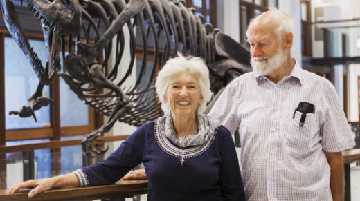 The biologists Rosemary and Peter Grant have spent four decades on a tiny island in the Galápagos. Their discoveries reveal how new animal species can emerge in just a few generations.