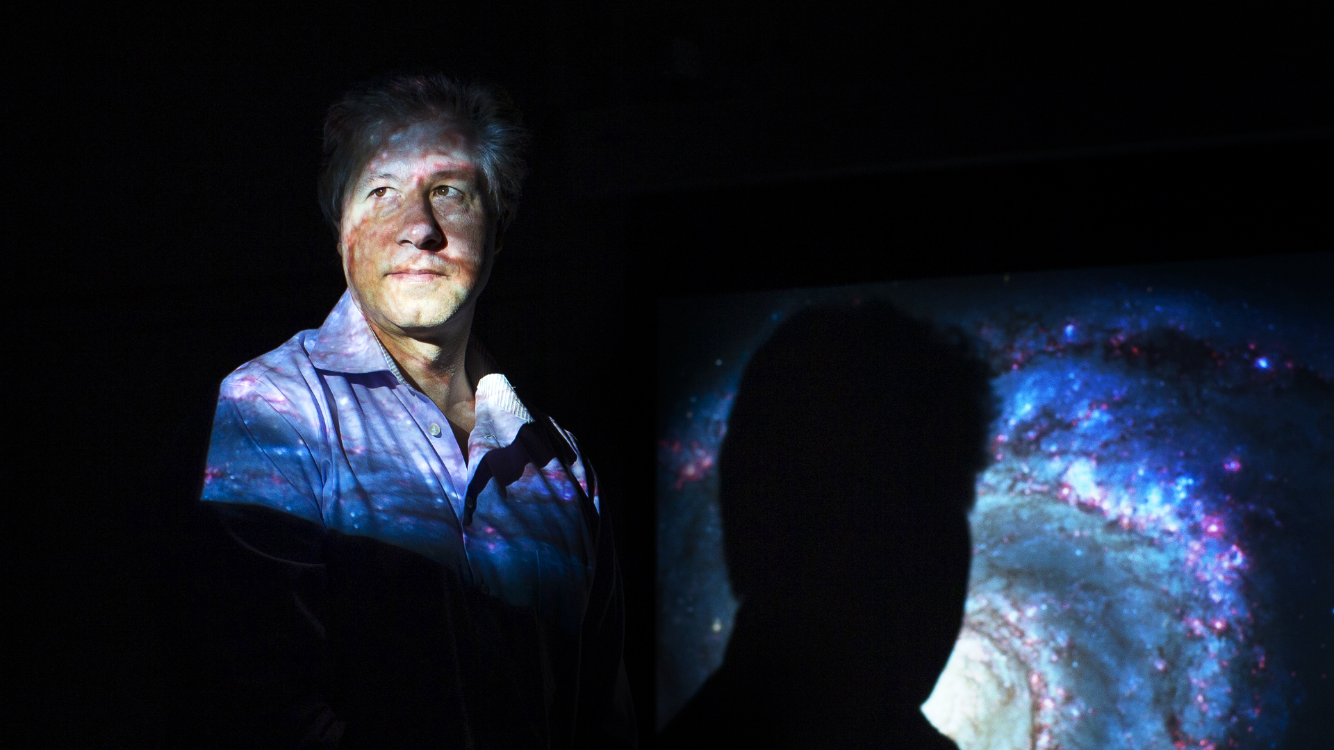 The Dutch theoretical physicist Erik Verlinde argues that dark matter does not exist.