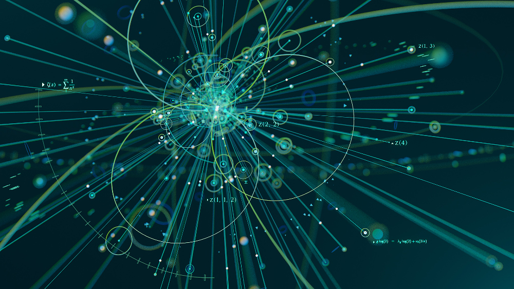 "Particle collisions are somehow linked to mathematical ""motives."