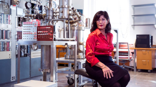 Elena Aprile now leads the world's most sensitive dark-matter search. But before she could build her first detector, she had to make herself out of titanium.