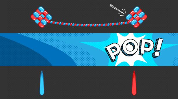 Illustration: balloon modelling as a metaphor for entanglement