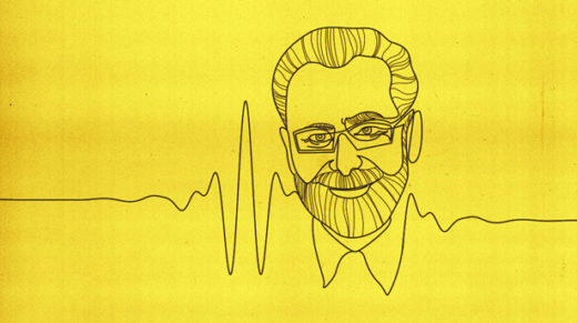 Illustration: Yves Meyer and his wavelet
