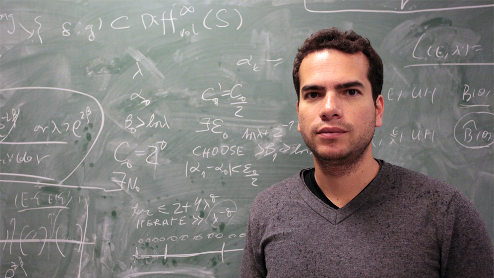 Artur Avila's solutions to ubiquitous problems in chaos theory have earned him Brazil's first Fields Medal.