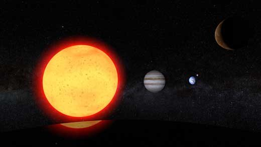 Join David Kaplan on a virtual-reality tour showing how the sun, the Earth and the other planets came to be.