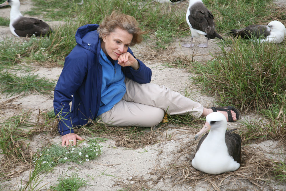 On Midway Atoll, Sylvia Earle contemplates an albatross called Wisdom, which is 60 years old and still laying eggs. Science is learning that many oceanic creatures are surprisingly long lived, which makes their loss from human activities more profound.