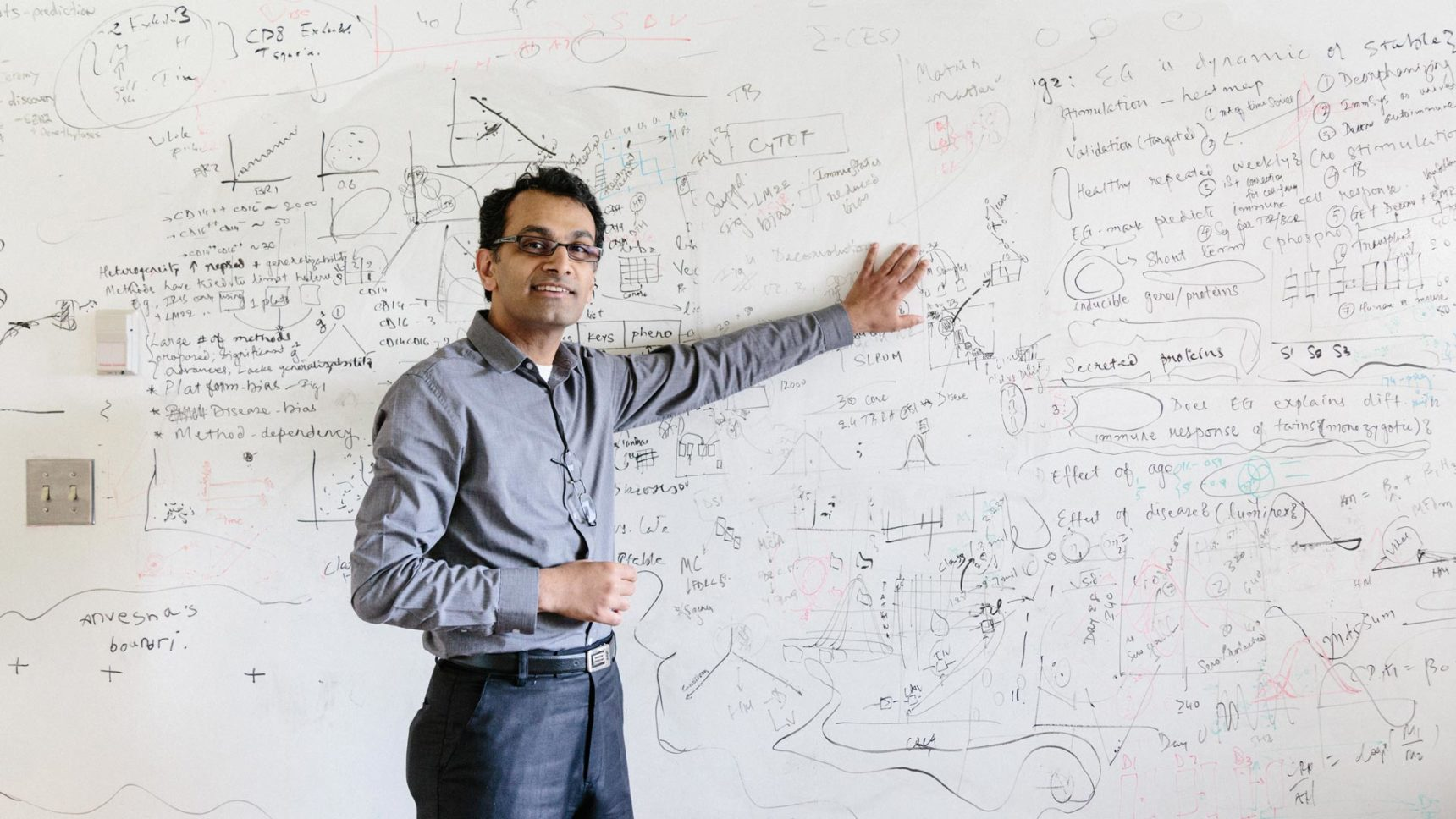 Video: Khatri learned that by working with messy clinical data sets, he could find genes that the human body expresses in response to diverse forms of a disease.