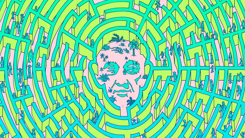 Nash equilibrium maze
