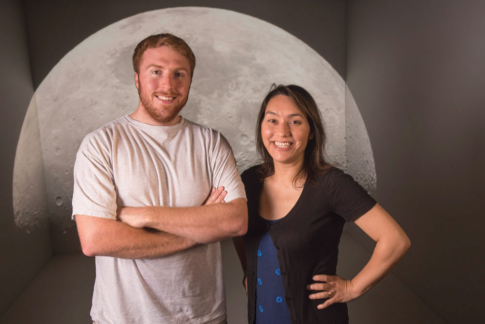 Sarah Stewart, a planetary scientist at the University of California, Davis, along with her student Simon Lock at Harvard University.