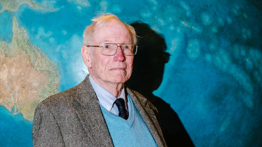 Jason Morgan developed the theory of plate tectonics in 1967 while working among a critical mass of talented geophysicists at Princeton University.