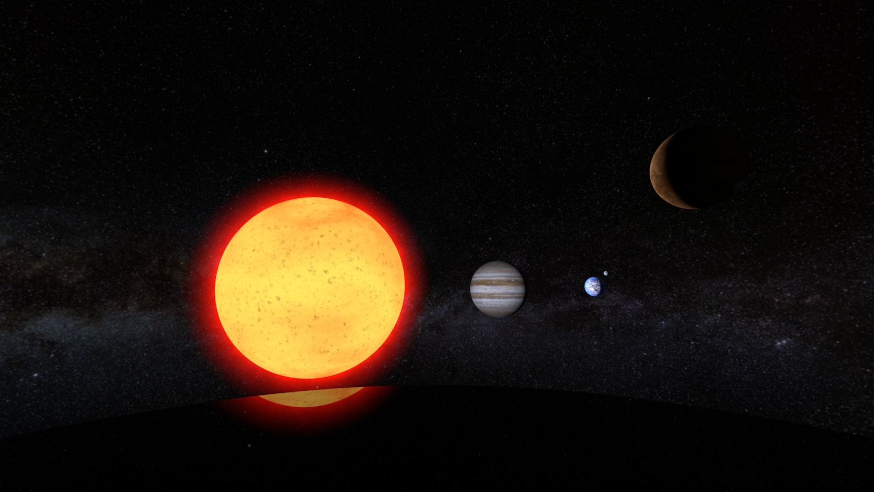 Video: This virtual-reality tour shows how the sun, Earth and the other planets came to be.