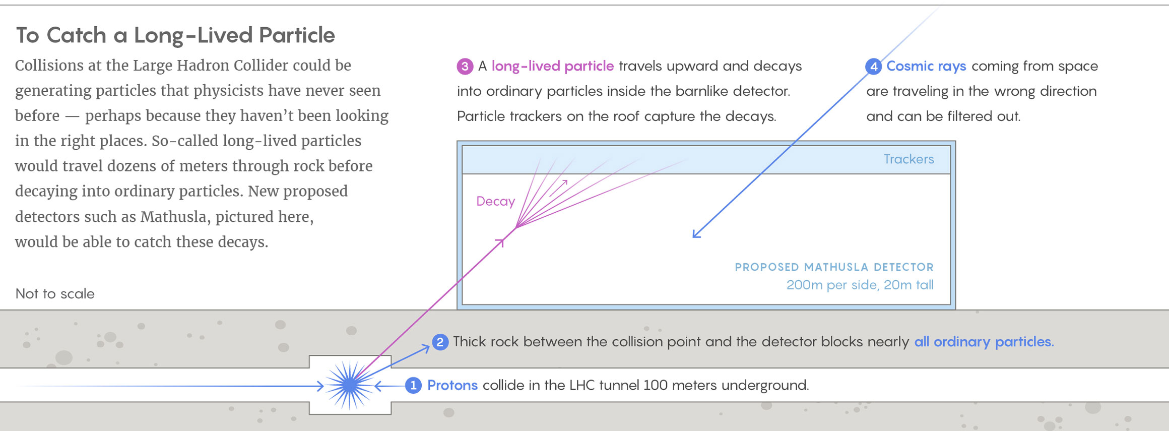 To catch a long-lived particle
