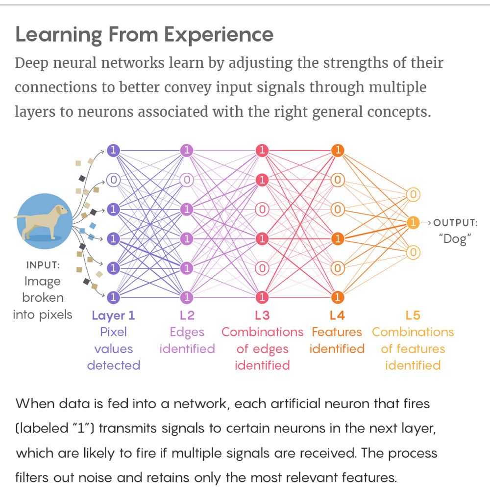 New Theory Cracks Open The Black Box Of Deep Learning Quanta Magazine