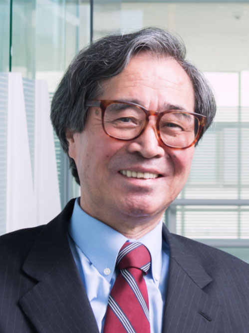 Masakazu Aono, director general of the International Center for Materials Nanoarchitectonics in Japan's National Institute for Materials Science, is the leader of the group that developed the atomic switches that function like artificial synapses in the network.