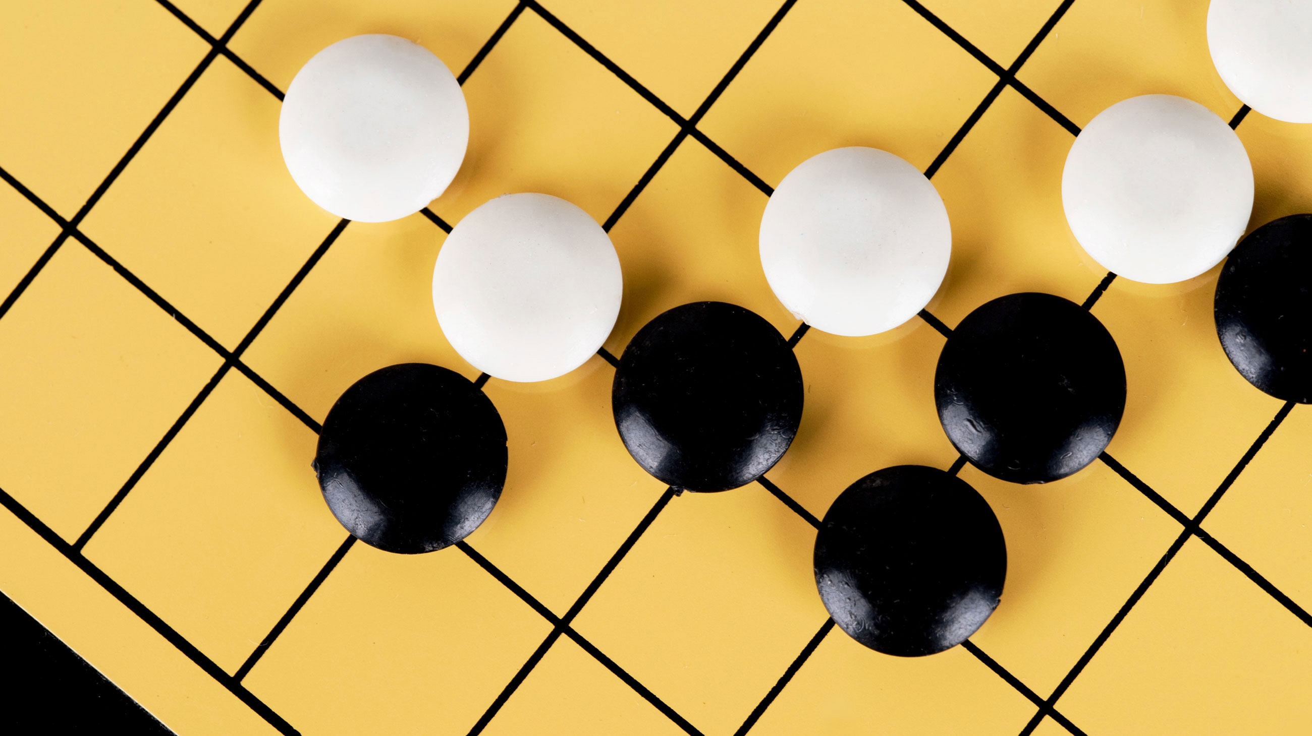 Photo of AlphaGo board by dreamdream | Quanta Magazine