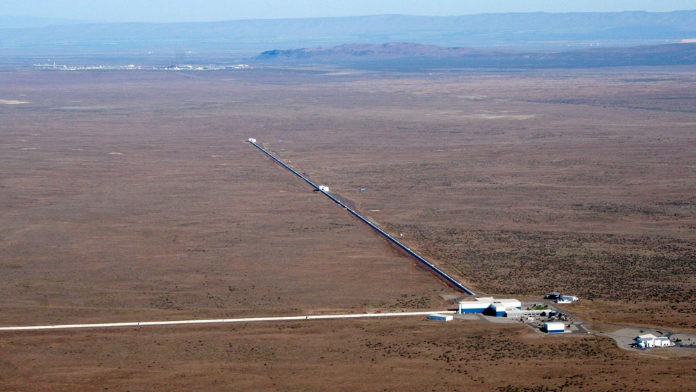 LIGO Hanover from the air