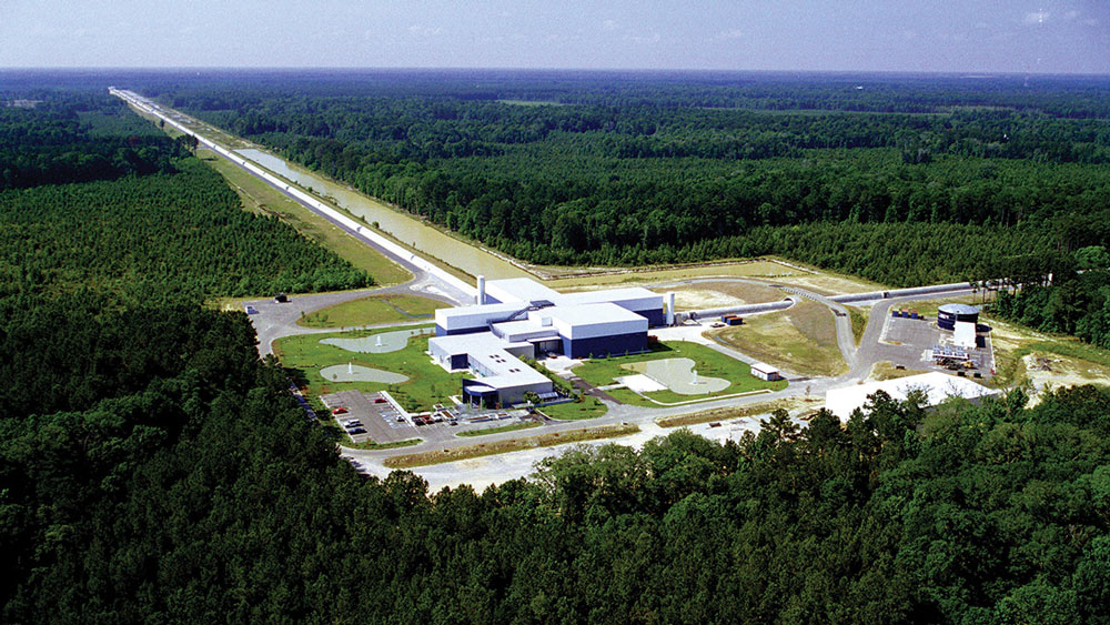 First visual proof of gravitational wave event