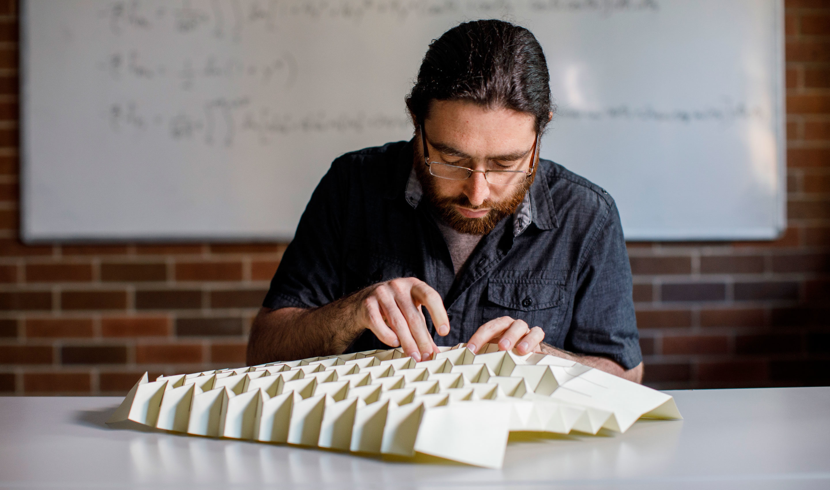 Michael Assis has found that origami can experience a phase transition.