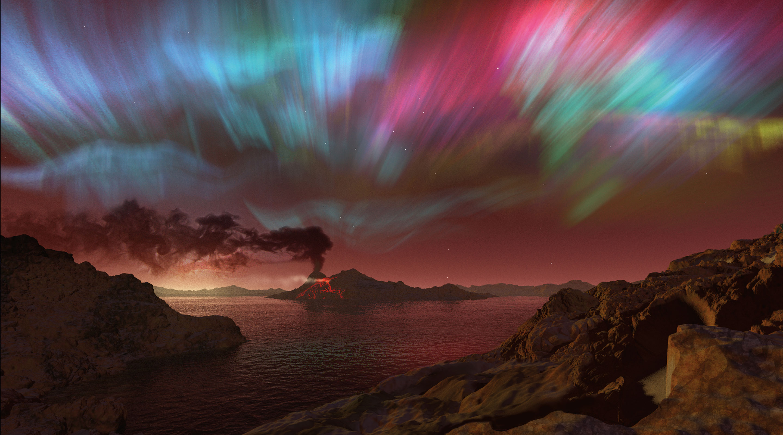 Illustration: Proxima Centauri b's atmosphere