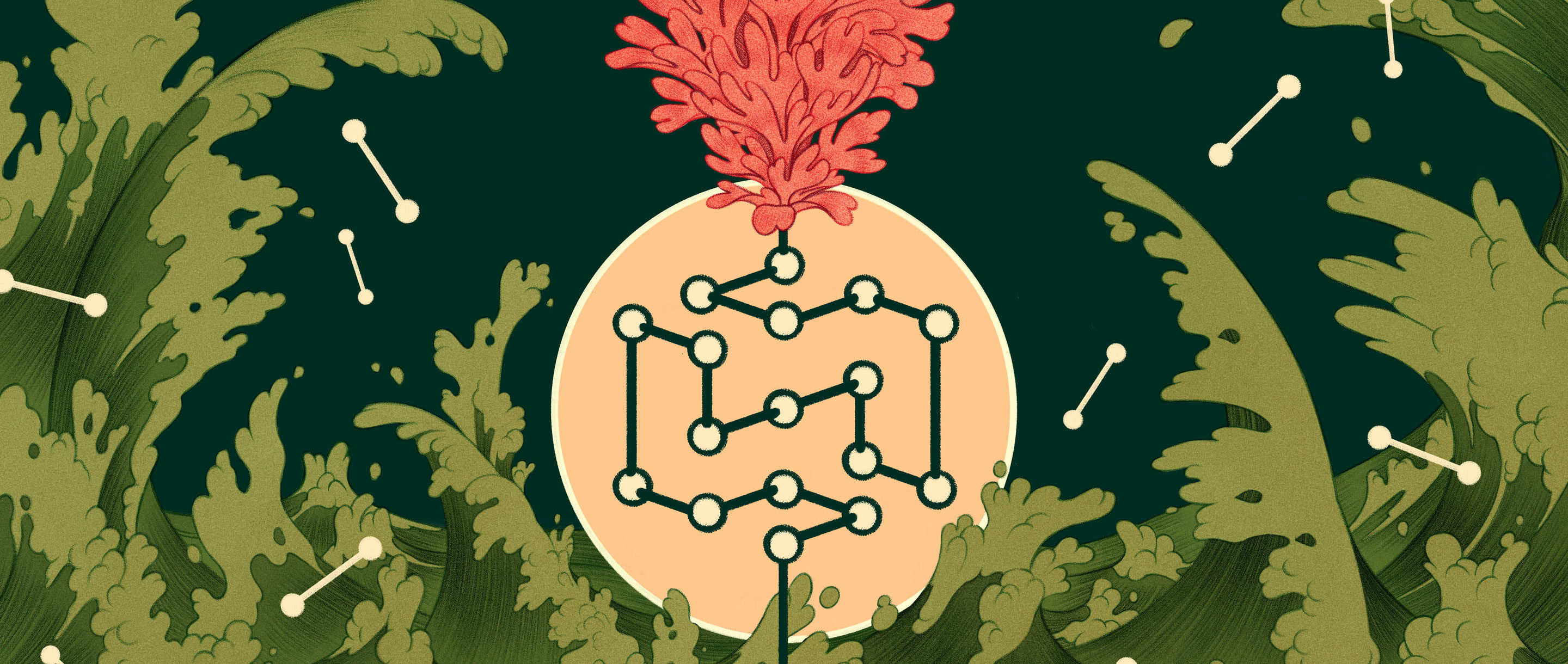 Which mattered first at the dawn of life: proteins or nucleic acids? Proteins may have had the edge if a theorized process let them grow long enough to become self-replicating catalysts.