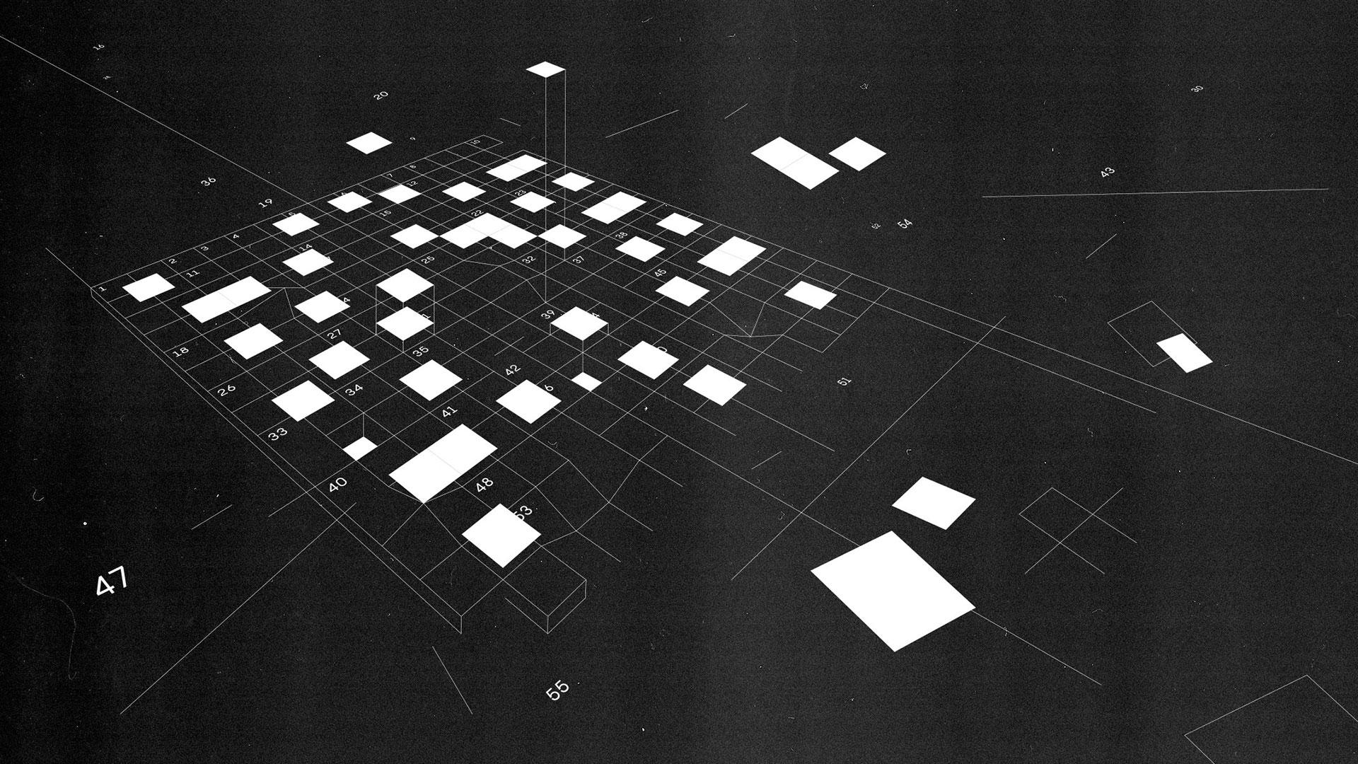 crossword puzzle illustration