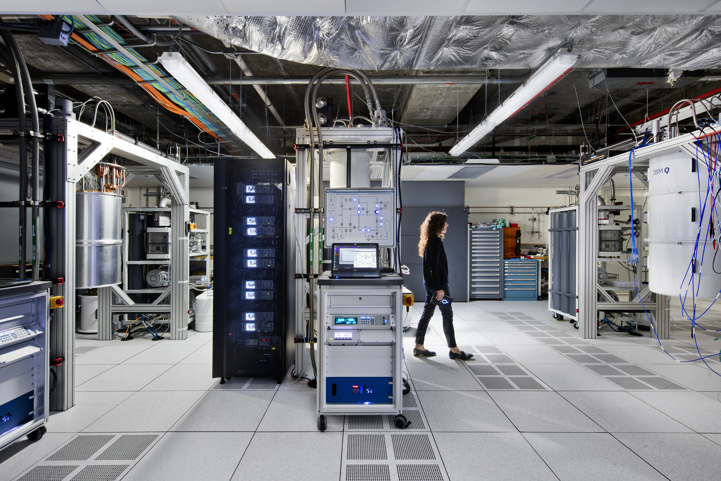 Photo of IBM Q Lab