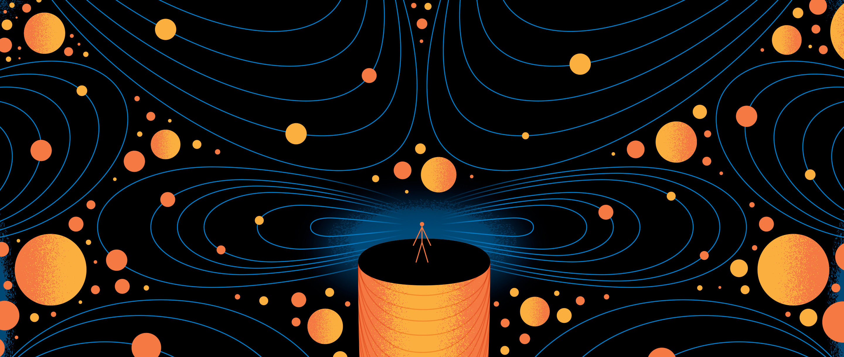 Homepage Illustration for Quantum Gravity