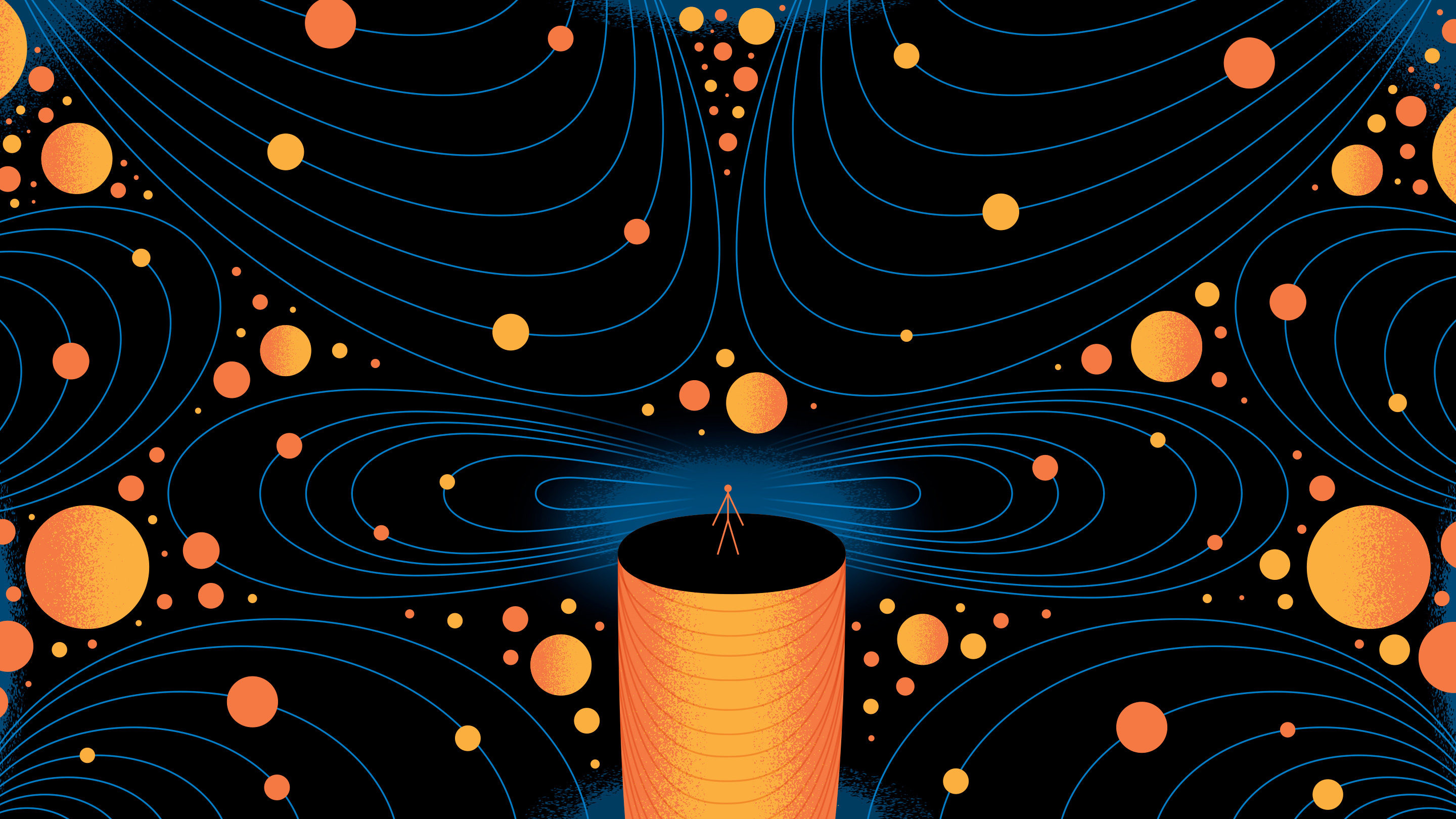 Lede Illustration for Quantum Gravity
