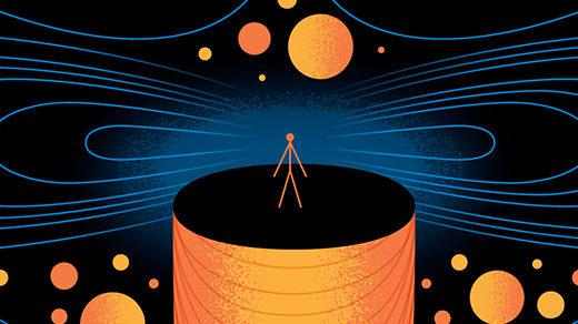 520 Illustration for Quantum Gravity