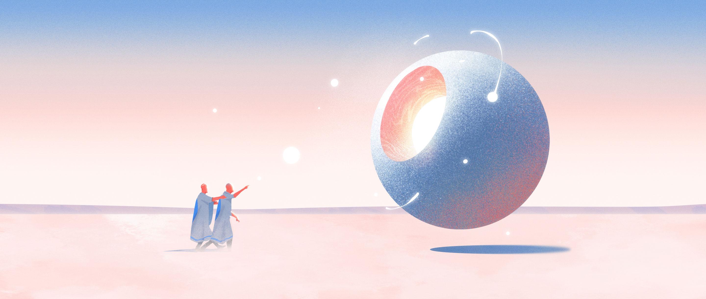Illustration for first stars