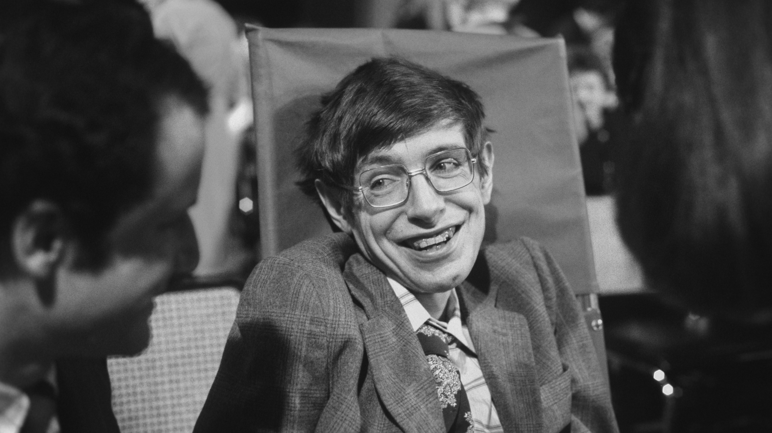 The physicist Stephen Hawking in 1979 in Princeton, New Jersey.