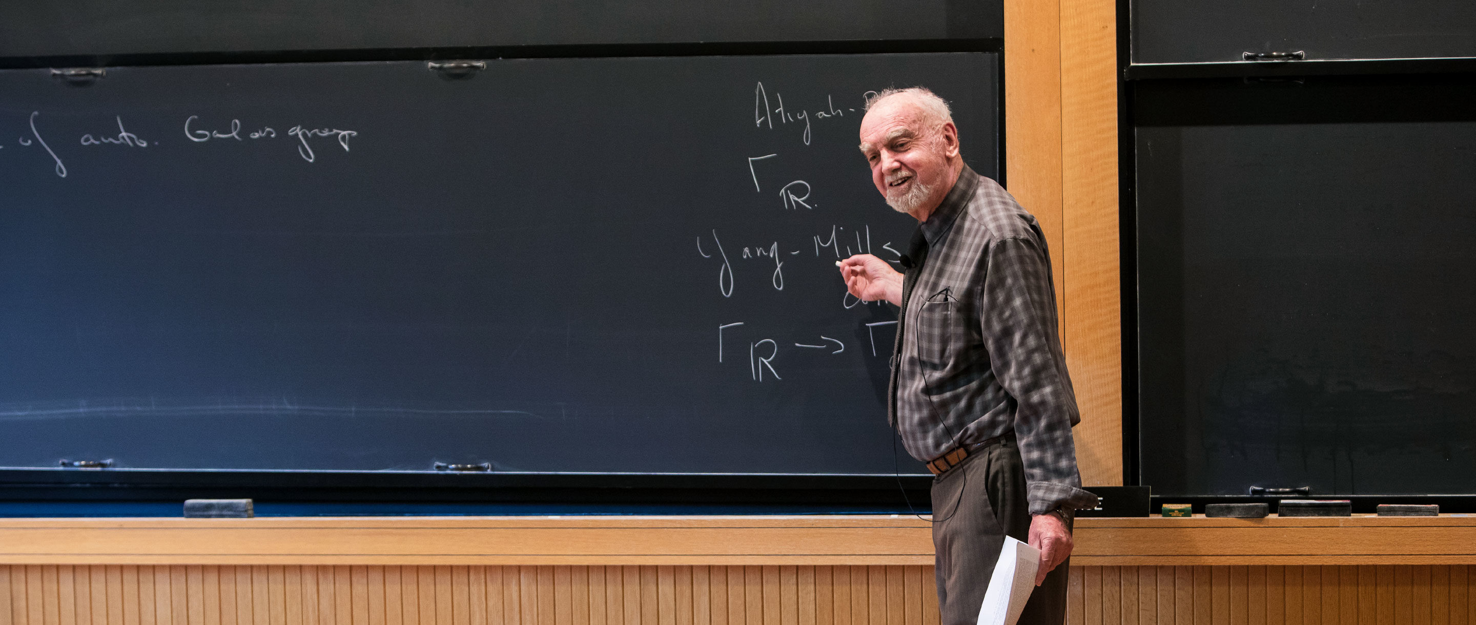"""Generations of researchers have pursued his """"Langlands program,"""" which seeks to create a grand unified theory of mathematics."""
