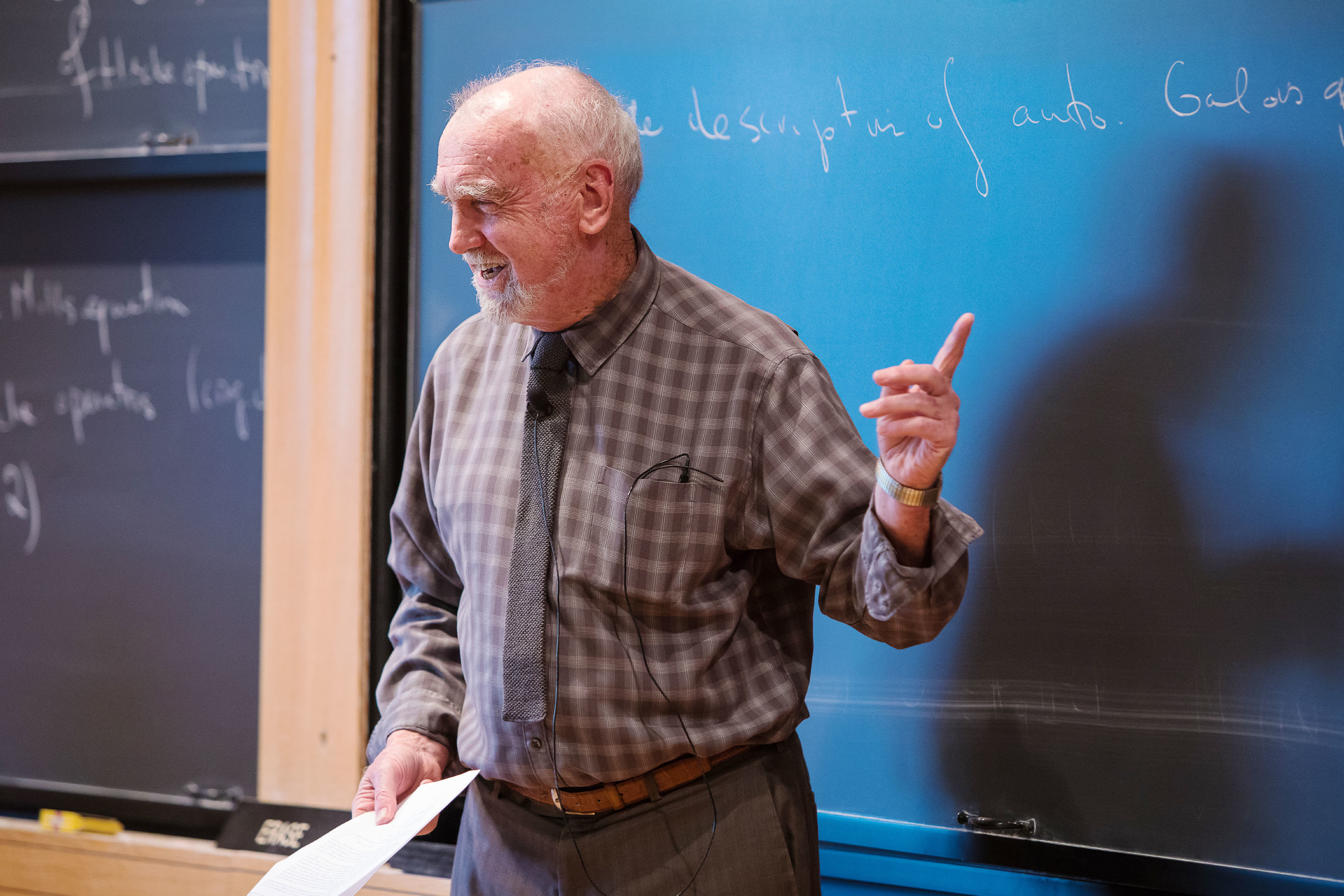 Robert Langlands, Mathematical Visionary, Wins the Abel Prize