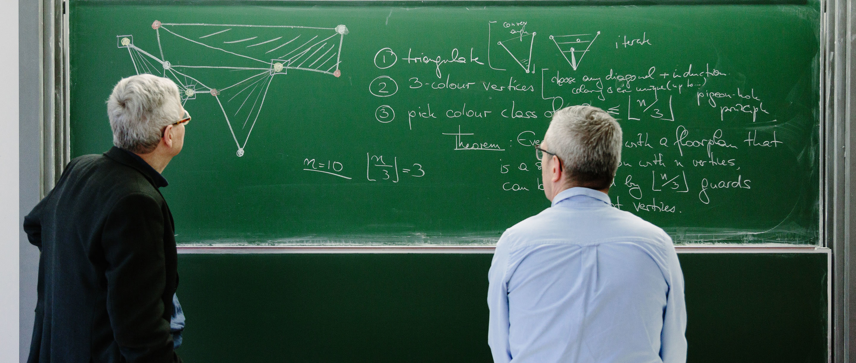 Portrait of Mathematicians Prof. Günter M. Ziegler and Prof. Martin Aigner